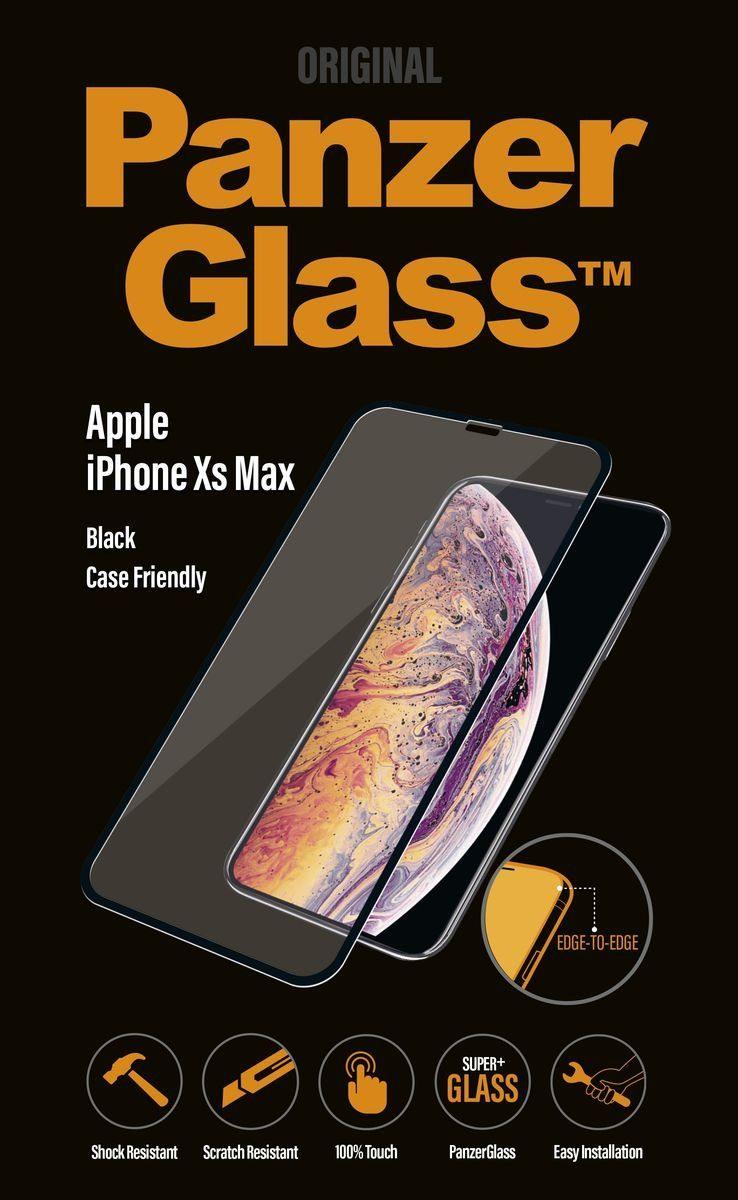 Panzerglass Schutzglas »für Apple iPhone XS Max Case friendly«