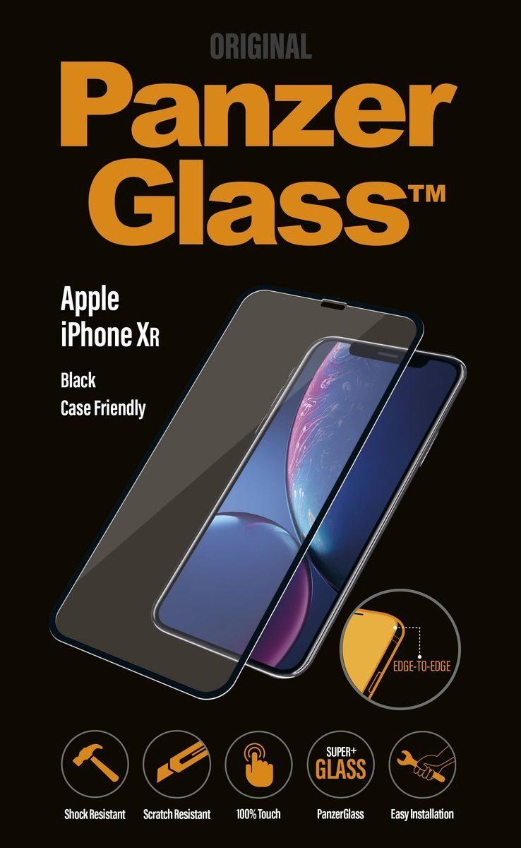 Panzerglass Schutzglas »für Apple iPhone XR, Case friendly«
