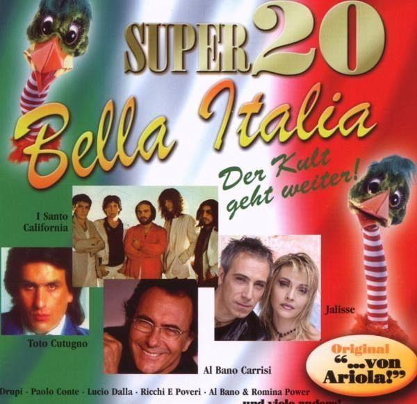 Audio CD »Diverse: Super 20-Bella Italia«