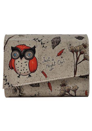 Damen DOGO Abendtasche Night Owl, Vegan bunt,mehrfarbig | 08680544158133