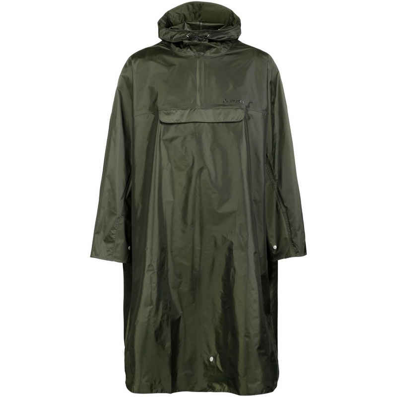 VAUDE Strickponcho »Hiking Backpack« Fair Wear Foundation,Green Shape,Grüner Knopf,PFC-frei,bluesign® product