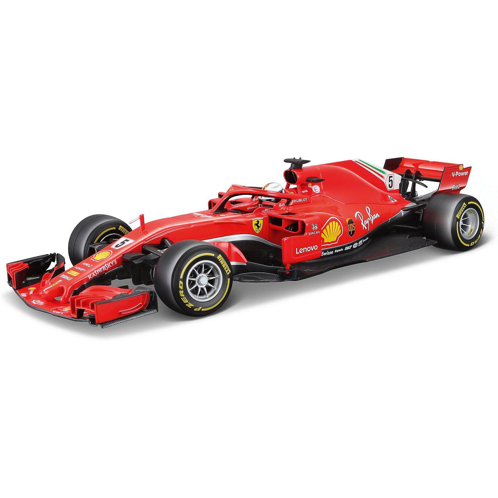 Bburago 1:18 Ferrari SF18-T Sebastian Vettel