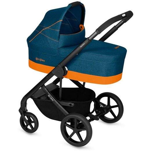 Cybex Kombi Kinderwagen Balios S, Gold-Line, Tropical Blue