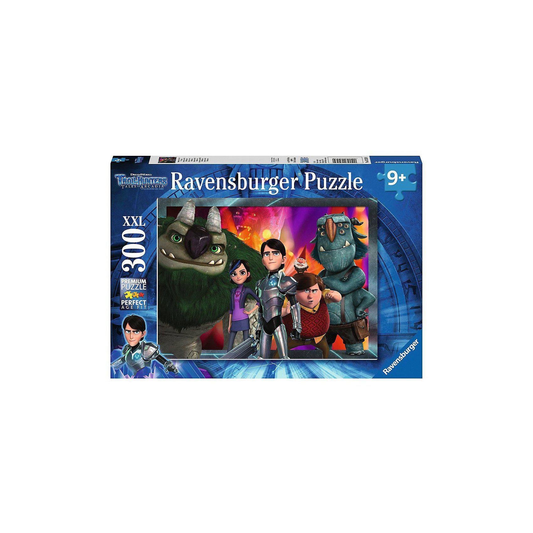 Ravensburger Puzzle 300 Teile Abenteuer mit den Trolljägern