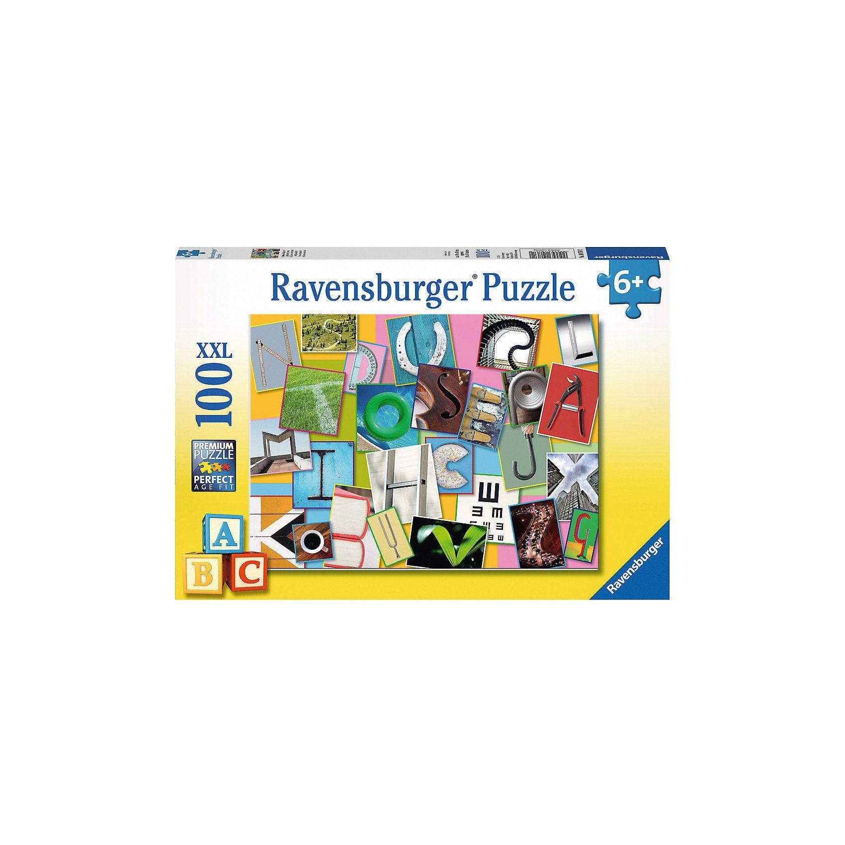 Ravensburger Puzzle 100 Teile Lustiges Alphabet