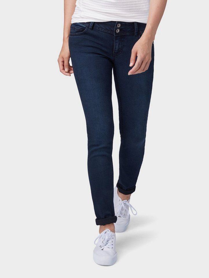 tom tailor slim fit jeans carrie slim jeans mit zwei. Black Bedroom Furniture Sets. Home Design Ideas
