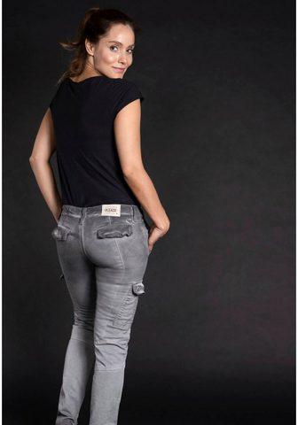 Please Jeans Please Džinsai kišeninės kelnės »P 02N...
