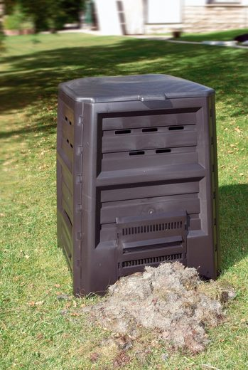 KHW Komposter 640 Liter, BxTxH: 84x84x112 cm