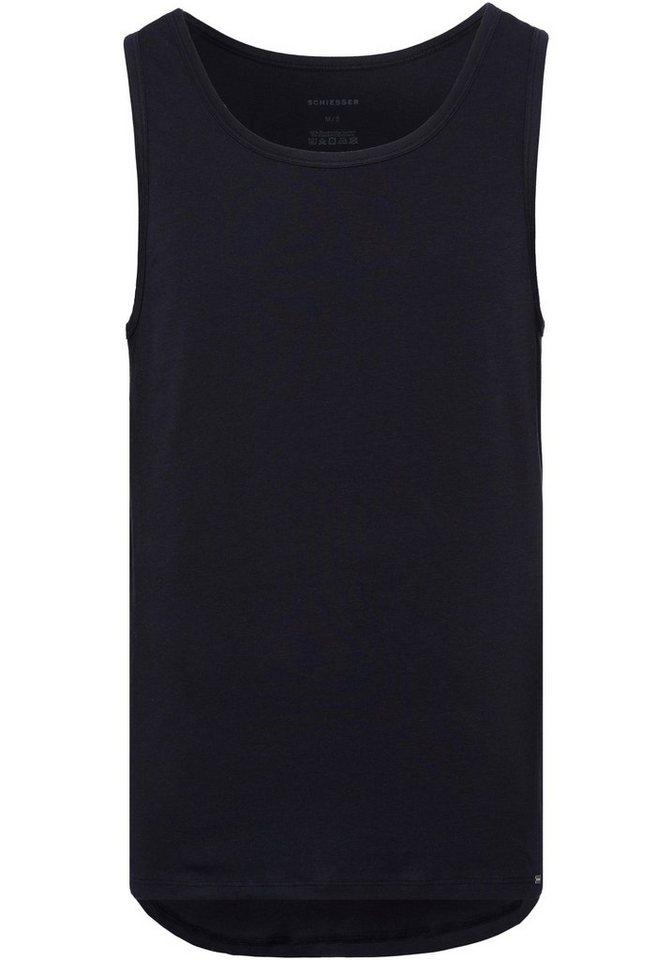 schiesser -  Unterhemd, mit etwas längerer Rückenpartie