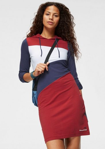 KangaROOS Shirtkleid im aktuellen Colorblocking-Design