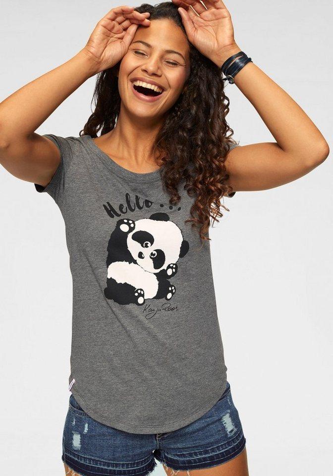 KangaROOS T-Shirt mit niedlichem Print vorne und hinten online ... d83b55ec3a