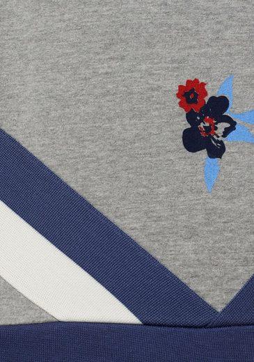 Mix Sweatshirt Coolen Aus Und Kangaroos Im Blumen Streifen druck w6zqHT
