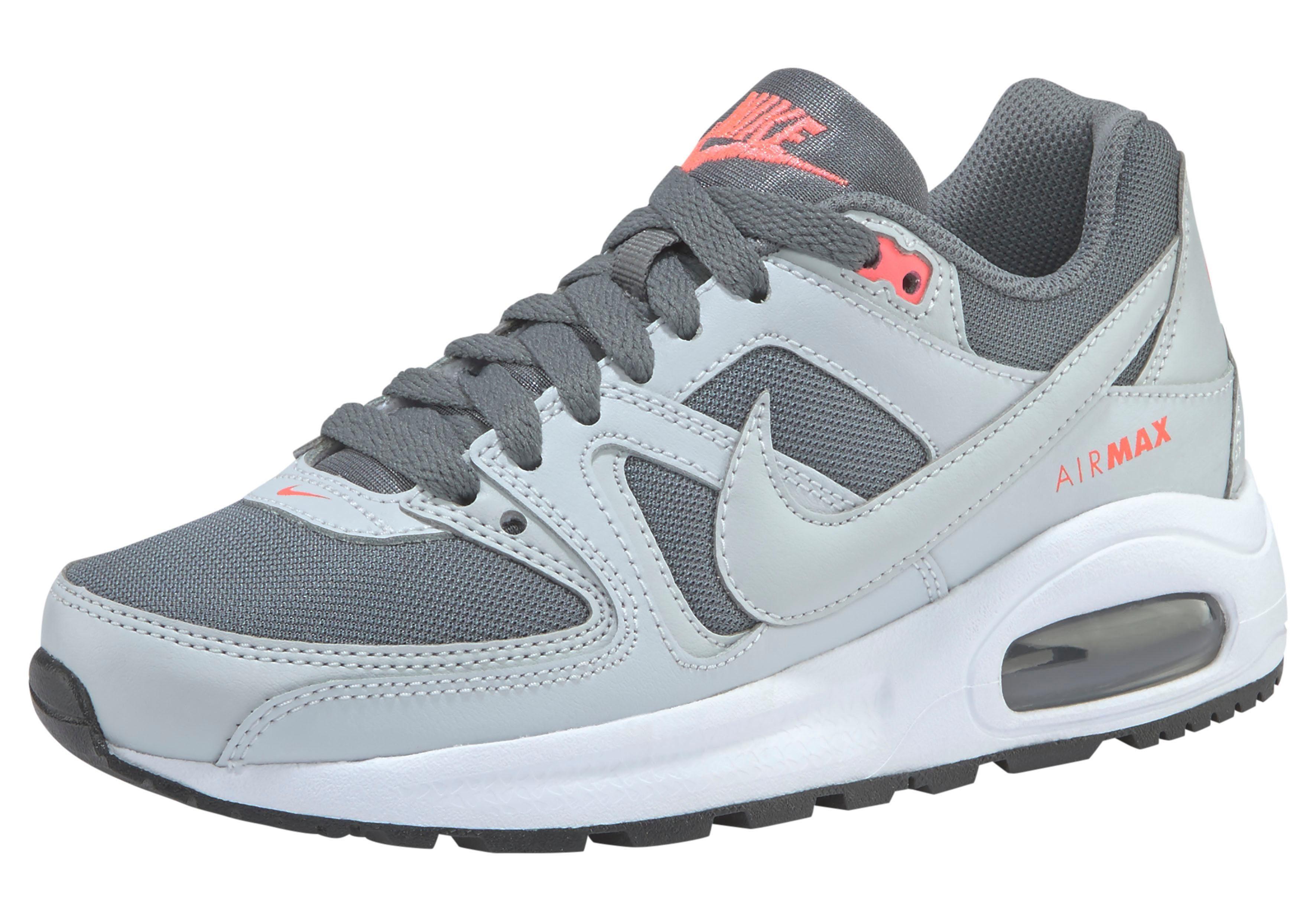 Komfortabel Nike Air Max Command Leather Schuhe grau Frauen
