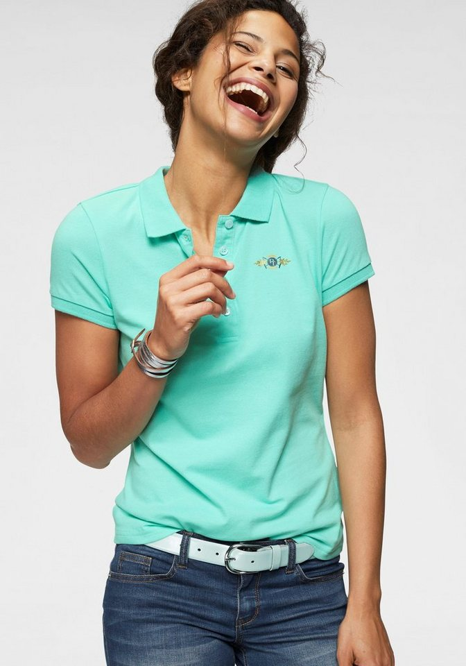 Tom Tailor Polo Team Poloshirt mit Logodruck auf Brusthöhe online ... 999d6ff57a