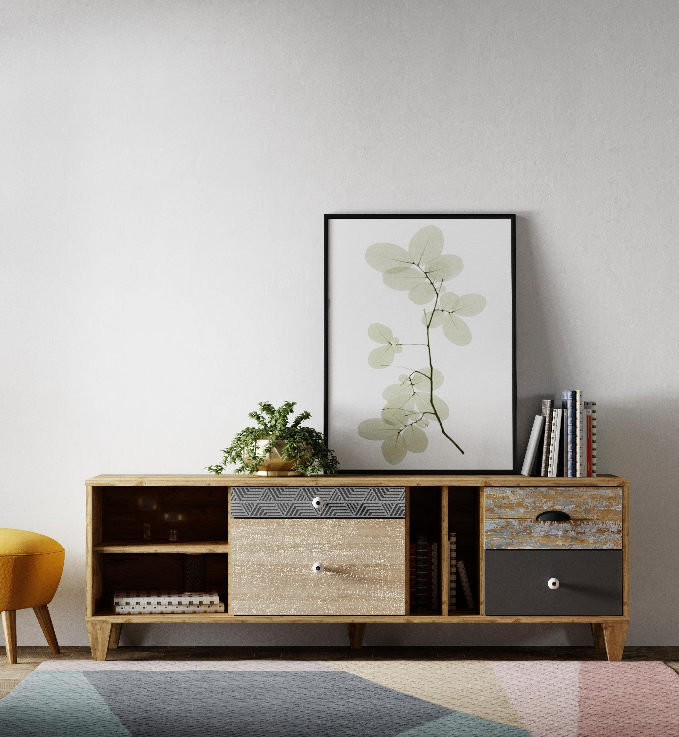 Home affaire Lowboard »Oker«, Breite 147 cm