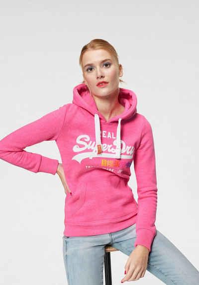 Rosa Hoodie online kaufen » Hoodie in pink   OTTO d9472ac35a