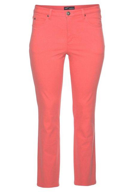 Hosen - Arizona Gerade Jeans »Comfort Fit« High Waist › orange  - Onlineshop OTTO
