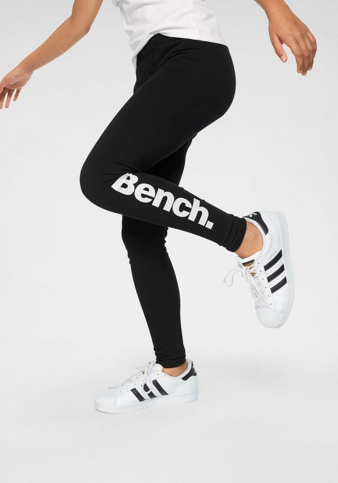 Bench Leggings Mit Bench Logodruck Mit Elasthananteil F 252 R Die Perfekte Passform Online Kaufen