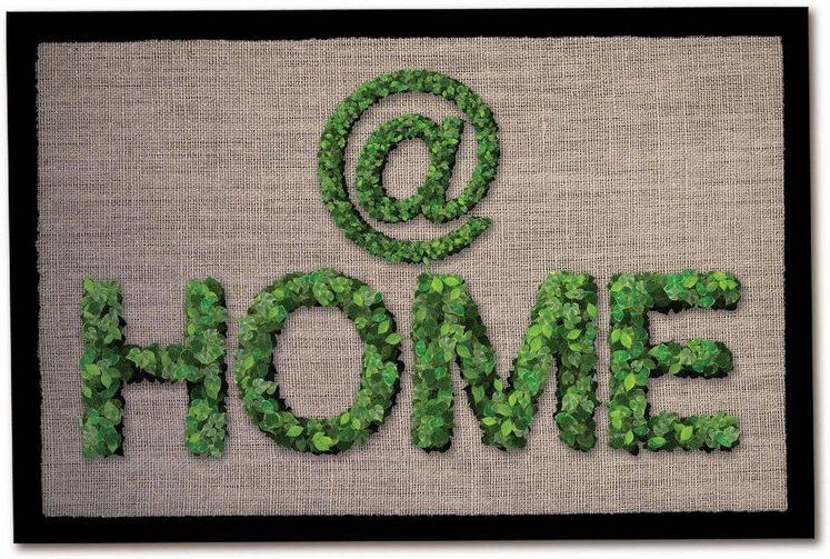 Fußmatte »Home«, Andiamo, rechteckig, Höhe 5 mm, In- und Outdoor geeignet