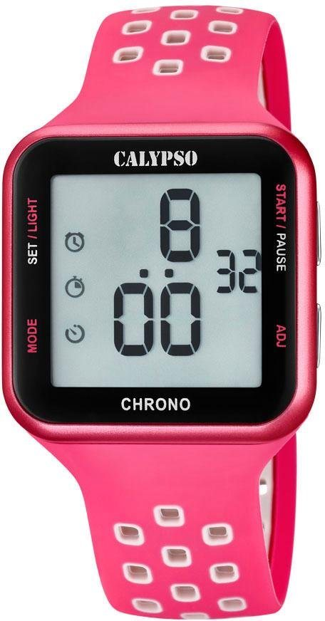 CALYPSO WATCHES Digitaluhr »Color Run, K5748/2« | Uhren > Digitaluhren | Rosa | CALYPSO WATCHES