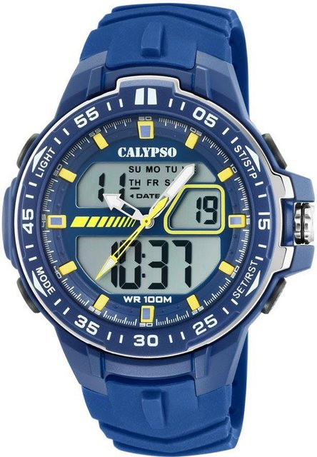 CALYPSO WATCHES Multifunktionsuhr »Street Style, K5766/1« | Uhren > Multifunktionsuhren | Blau | CALYPSO WATCHES