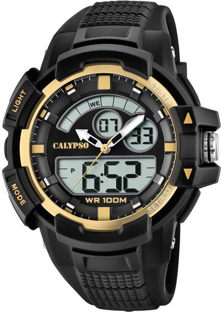 CALYPSO WATCHES Multifunktionsuhr »Street Style, K5767/4« | Uhren > Multifunktionsuhren | Schwarz | CALYPSO WATCHES