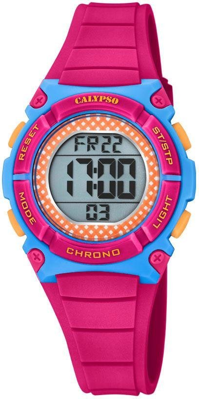 CALYPSO WATCHES Digitaluhr »Digital Crush, K5756/6« | Uhren > Digitaluhren | Rosa | CALYPSO WATCHES