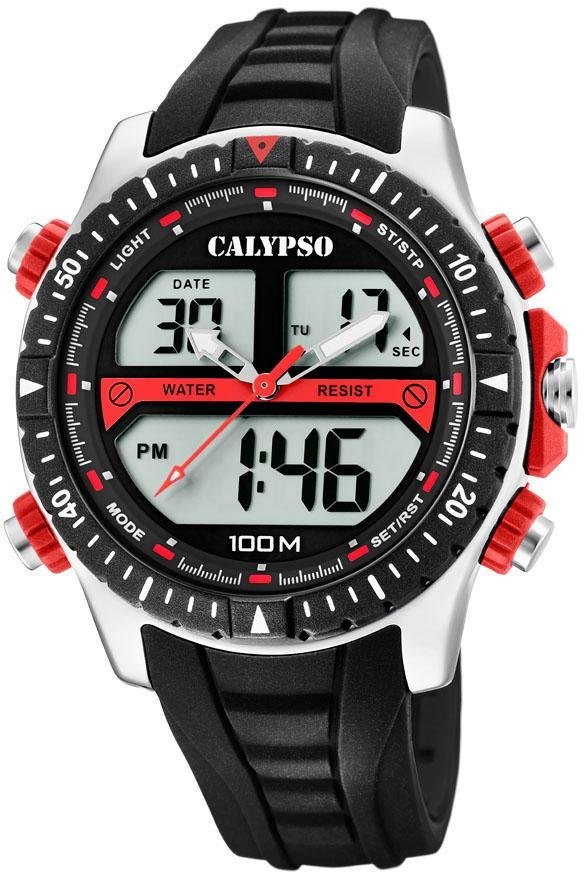 CALYPSO WATCHES Multifunktionsuhr »Street Style, K5773/3«   Uhren > Multifunktionsuhren   Schwarz   CALYPSO WATCHES