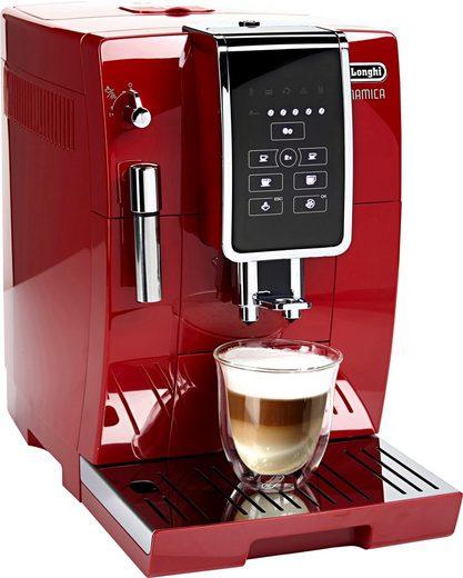 De'Longhi Kaffeevollautomat Dinamica ECAM 358.15.R, Sensor-Bedienfeld