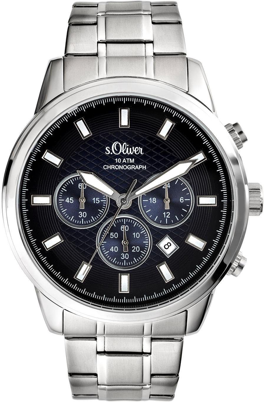 s.Oliver RED LABEL Chronograph »SO-3686-MC«