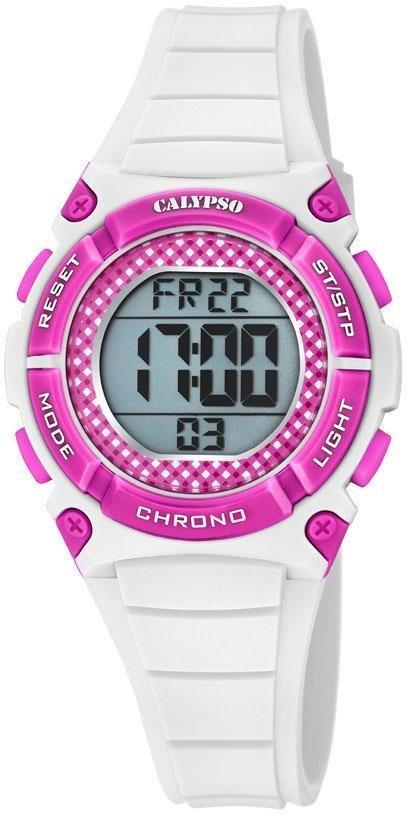 CALYPSO WATCHES Digitaluhr »Digital Crush, K5756/3« | Uhren > Digitaluhren | Weiß | CALYPSO WATCHES