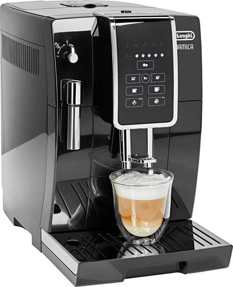 De'Longhi Kaffeevollautomat Dinamica ECAM 358.15.B, Sensor-Bedienfeld