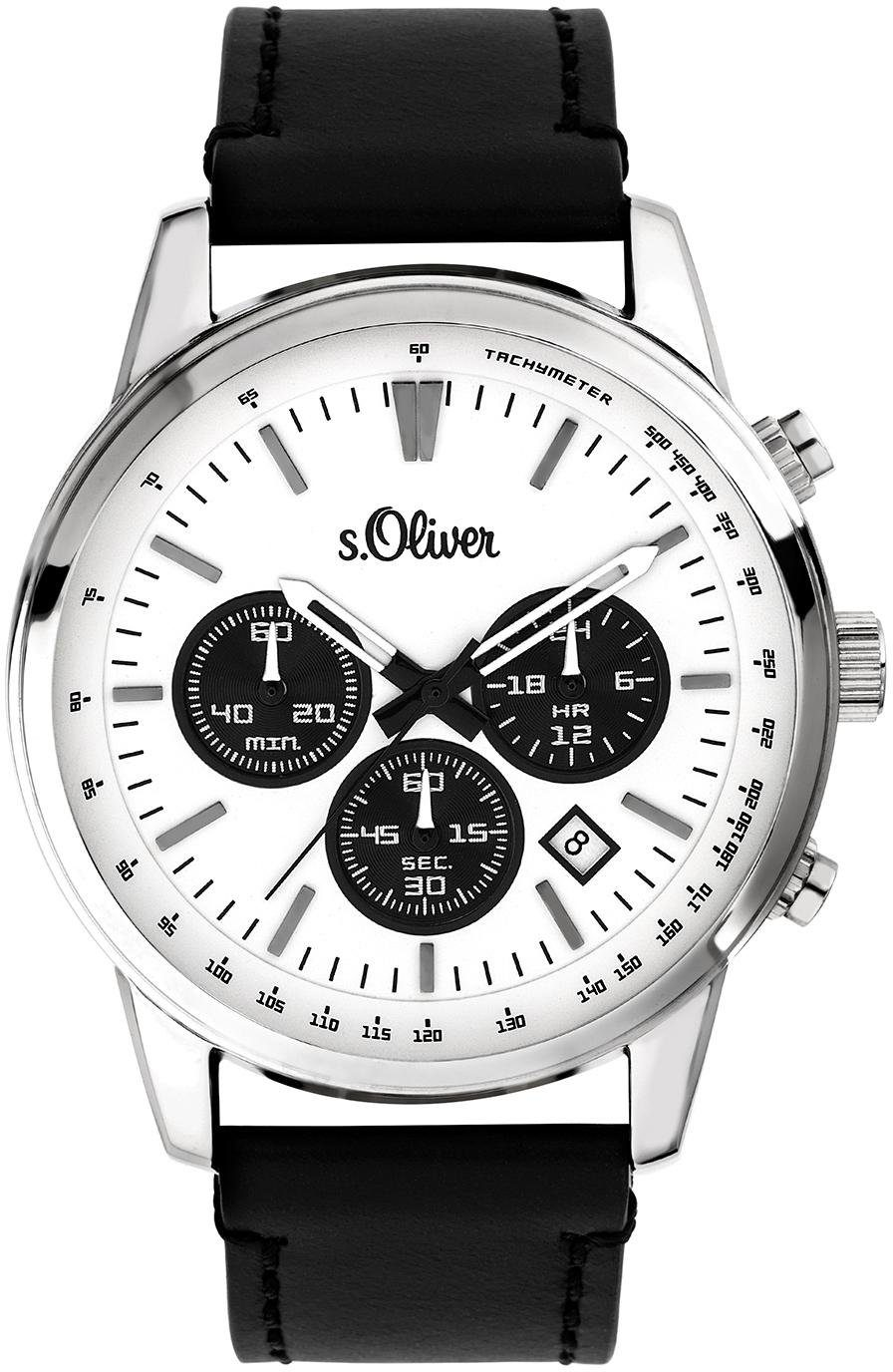 s.Oliver RED LABEL Chronograph »SO-3687-LC«
