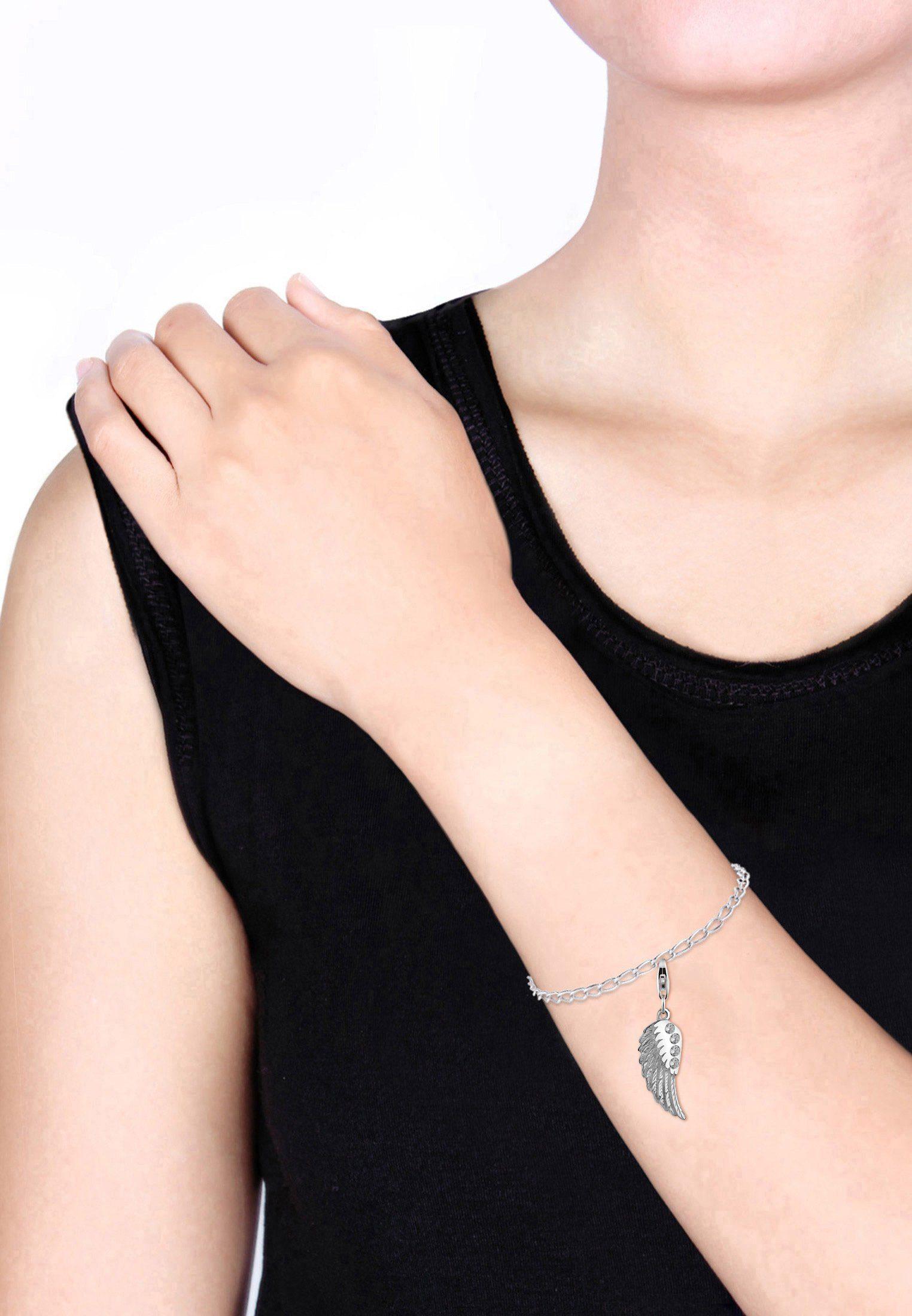Glücksbringer Flügel Charm Zirkonia Nenalina »anhänger 925 Kaufen Silber« Online einhänger 0wOPkn