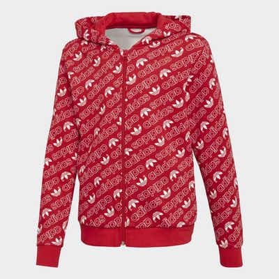 5e4d1b793cd3 adidas Originals Sweatjacke »Trefoil Monogram Kapuzenjacke«