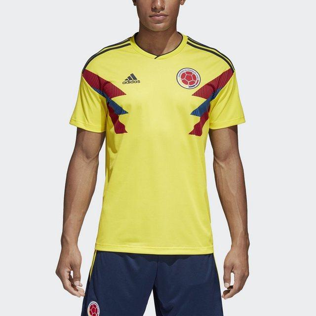 adidas Performance Fußballtrikot »Kolumbien Heimtrikot« | Sportbekleidung > Trikots | Gelb | adidas Performance