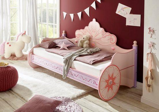 Begabino Kinderbett, für kleine Prinzessinnen