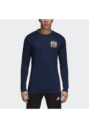 Herren adidas Performance Fußballtrikot Man Utd 50th Anniversary blau | 04059807798685