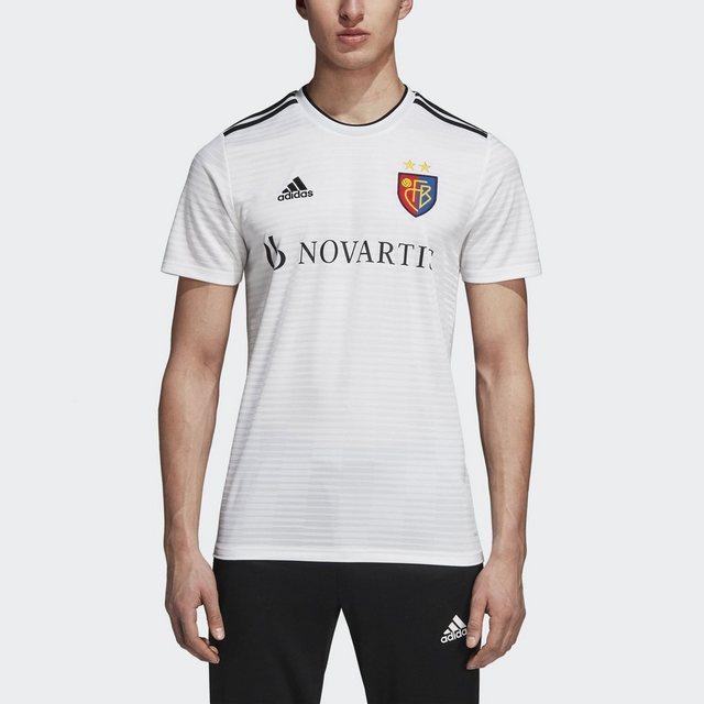 adidas Performance Fußballtrikot »FC Basel Auswärtstrikot« | Sportbekleidung > Trikots | Weiß | adidas Performance