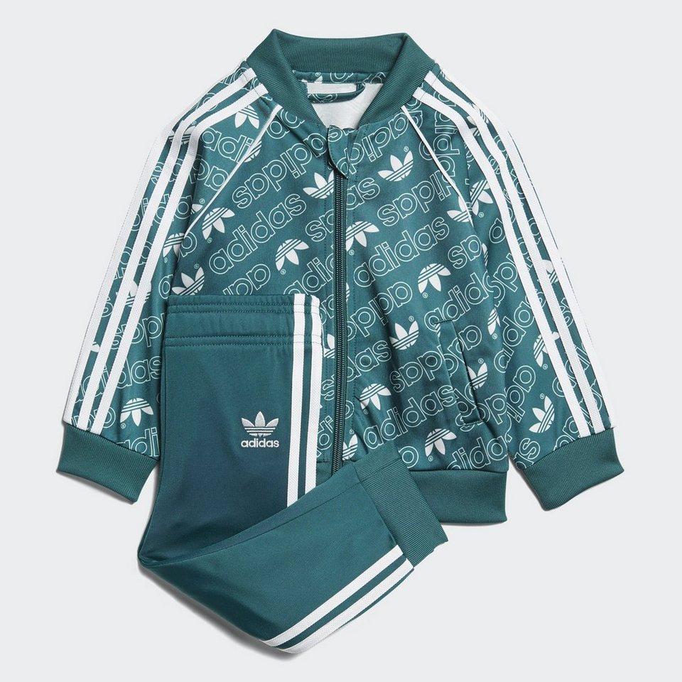 adidas Originals Trainingsanzug »Monogram Trefoil SST Trainingsanzug ... dd9278674a