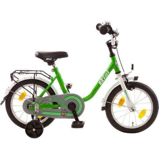 Bachtenkirch Kinderfahrrad Bibi 14 Zoll, grün-weiß