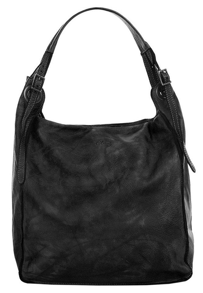 Cluty Shopper   Taschen > Handtaschen > Shopper   Schwarz   Cluty