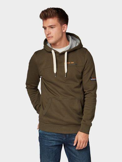 TOM TAILOR Denim Sweater »Hoody mit Kängurutasche«