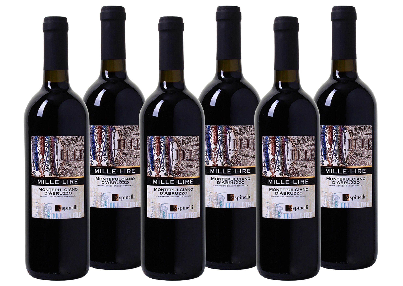 Rotwein aus Italien »Mille Lire - Montepulciano d'Abruzzo DOC«