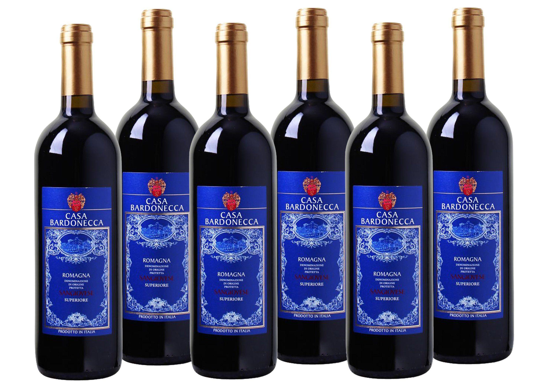 Rotwein aus Italien »13,0% 6 x 0,75 Liter - Casa Bardonecca 2016«