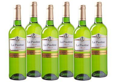Weißwein aus Frankreich »11,5 % - 6 x 0,75 l - La Pauline 2017«