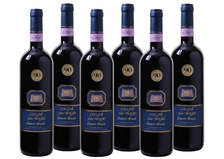 Rotwein aus Italien »13,5% 6 x 0,75 Liter - Colline San Biagio 2008«