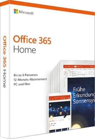 Microsoft Office 365 Home (Officeprogramm, Download-Code)