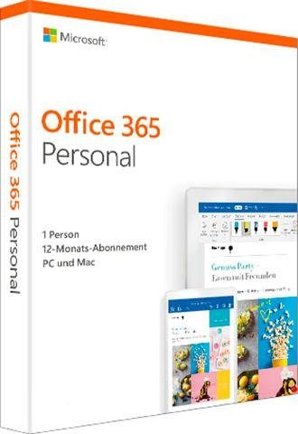 Microsoft Office 365 Personal (Officeprogramm, Download-Code)