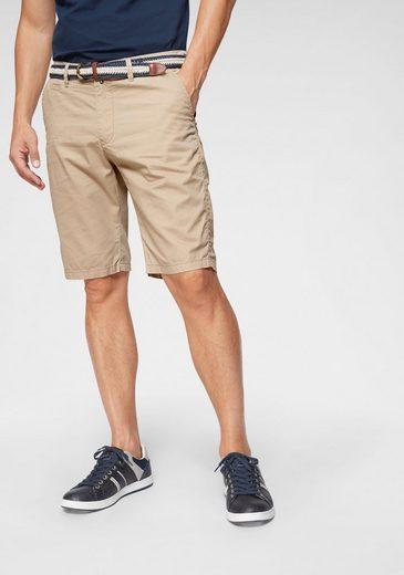 COMMANDER Shorts (Set, 2-tlg., mit Gürtel)